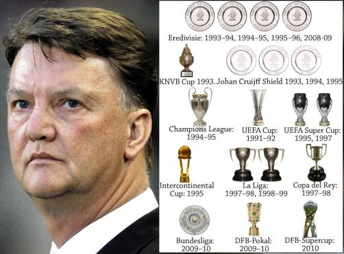 a look at louis-van-gaal-trophies
